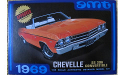1969  CHEVELLE  convertible SS396  AMT 1:25