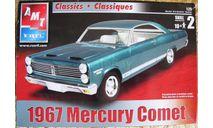 1967  Mercury  Comet   M 1:25, сборная модель автомобиля, AMT, scale24