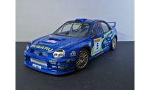 SUBARU IMPREZA  WRC  Hongwell-Cararama 1:24, масштабная модель, Bauer/Cararama/Hongwell, scale24