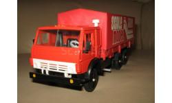 КАМАЗ-53212 ТЕНТ SCALE MODEL