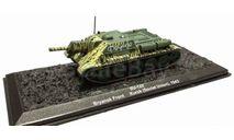 SU-122 (СУ-122) - модель 1/72 ДеАгостини серии Автомобиль на службе - Военная техника Второй Мировой войны. Спецвыпуск №2, масштабные модели бронетехники, Автомобиль на службе, журнал от Deagostini, scale72