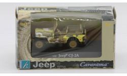 Jeep CJ-2A от Cararama / Hongwell, масштабная модель, Bauer/Cararama/Hongwell, 1:43, 1/43