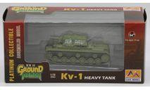 КВ-1 - модель 1/72 Easy Model серии Ground Armor WW II, масштабные модели бронетехники, 1:72