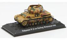 Flakpanzer IV (2cm Vierling) Wirbelwind - 1945 - модель 1/72 Арсенал-Коллекция серии Танки Мира №40, масштабные модели бронетехники, scale72, Ostbau Werke