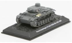 Panzerkampfwagen III Ausf.G (Sd.Kfz.141) - 1941 - модель 1/72 Арсенал-Коллекция серии Танки Мира №36