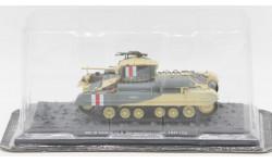 Mk. III Valentine II, Великобритания, 1941 год - модель 1/43 ДеАгостини серии Танки Легенды Отечественной Бронетехники №16, масштабные модели бронетехники, Vickers-Armstrongs, DeAgostini (военная серия), 1:43