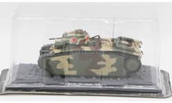 Char B1 bis, Франция, 1940 год - модель 1/43 ДеАгостини серии Танки Легенды Отечественной Бронетехники №15, масштабные модели бронетехники, DeAgostini (военная серия), 1:43