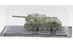 ИСУ-152 (1944 г.) - модель 1/43 ДеАгостини серии Танки Легенды Отечественной Бронетехники №5, масштабные модели бронетехники, DeAgostini (военная серия), 1:43