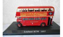 Leyland RTW75 1957 - модель 1/72 ДеАгостини спецвыпуск Автомобиль на службе Автобусы мира, масштабная модель, Автомобиль на службе, журнал от Deagostini, 1:72