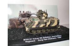 M163 A1 Vulcan - модель 1/72 ДеАгостини серии Автомобиль на службе - Современная военная техника. Спецвыпуск №4