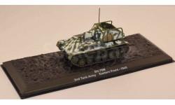 SU-76M (СУ-76М) - модель 1/72 ДеАгостини серии Автомобиль на службе - Военная техника Второй Мировой войны. Спецвыпуск №2