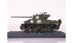 M4A3 Sherman, США, 1944 год - модель 1/43 ДеАгостини серии Танки Легенды Отечественной Бронетехники №19, масштабные модели бронетехники, Ford Motor Company, DeAgostini (военная серия), 1:43