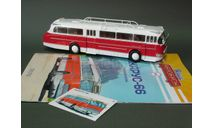 Икарус-66. Наши автобусы №6. Modimio, журнальная серия масштабных моделей, Ikarus, scale43