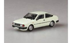 SKODA RAPID 136 (1987) от ABREX  цвет белый ледяной, масштабная модель, Škoda, 1:43, 1/43