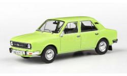 Škoda 105 св. зелёная 1:43 Abrex Шкода