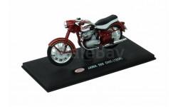 JAWA 500 OHC (1956) от ABREX тёмно красная, масштабная модель мотоцикла, scale18