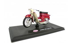 JAWA 50 type 20 от ABREX тёмно красная, масштабная модель мотоцикла, scale18