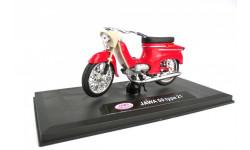 JAWA 50 type 21 от ABREX красная, масштабная модель мотоцикла, scale18