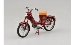 JAWA 50 Pionyr (1955) от ABREX тёмно красная, масштабная модель мотоцикла, scale18