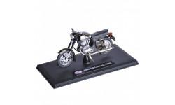 JAWA 350 Kyvacka Automatic от ABREX чёрная, масштабная модель мотоцикла, 1:18, 1/18