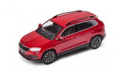 SKODA KAROQ от NOREV цвет красный, масштабная модель, scale43, Škoda