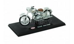 JAWA OGAR (PERAK) 350 (1948) от ABREX серая, масштабная модель мотоцикла, scale18