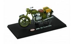 JAWA PERAK 250 (1950) от ABREX хаки, масштабная модель мотоцикла, scale18