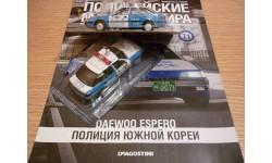 Daewoo espero Полицейские машины мира №71, масштабная модель, 1:43, 1/43, DeAgostini