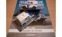 УАЗ-469 Полицейские машины мира №74, масштабная модель, 1:43, 1/43, DeAgostini