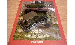 ARO 240 Автолегенды СССР №166, масштабная модель, 1:43, 1/43, DeAgostini