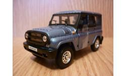 УАЗ Hunter голубой Autobahn, масштабная модель, 1:43, 1/43