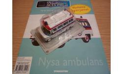 Nysa ambulans Польская серия, масштабная модель, 1:43, 1/43, DeAgostini