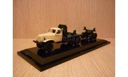 ЗИЛ-157К/ТВ-5 тягач с роспуском (трубовоз) DiP Models, масштабная модель, 1:43, 1/43