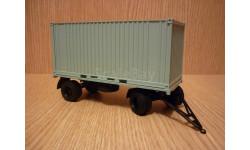 Прицеп ГКБ-8350 с контейнером Автоистория (АИСТ), масштабная модель, scale43