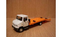 ЗИЛ-5301 'Бычок' эвакуатор, масштабная модель, 1:43, 1/43, Autobahn