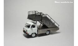Кит-набор Автотрап ТПС-22 + модель УАЗ-452Д, сборная модель автомобиля, 1:43, 1/43, Max-Models, Deagostini, ТПС-22, УАЗ-452Д