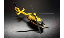 Eurocopter EC-135. ADAC. Готовая модель вертолета.