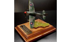 Hawker Tempest Mk. V. Миниатюра в футляре. Подарок или сувенир.