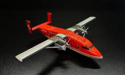 Short 330. Готовая модель самолета.