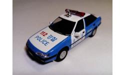 Полицейские Машины Мира №71 Daewoo Espero S, журнальная серия Полицейские машины мира (DeAgostini), ДеАгостини, scale43