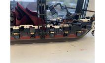 Чёрная жемчужина, сборные модели кораблей, флота, scale24, Лего