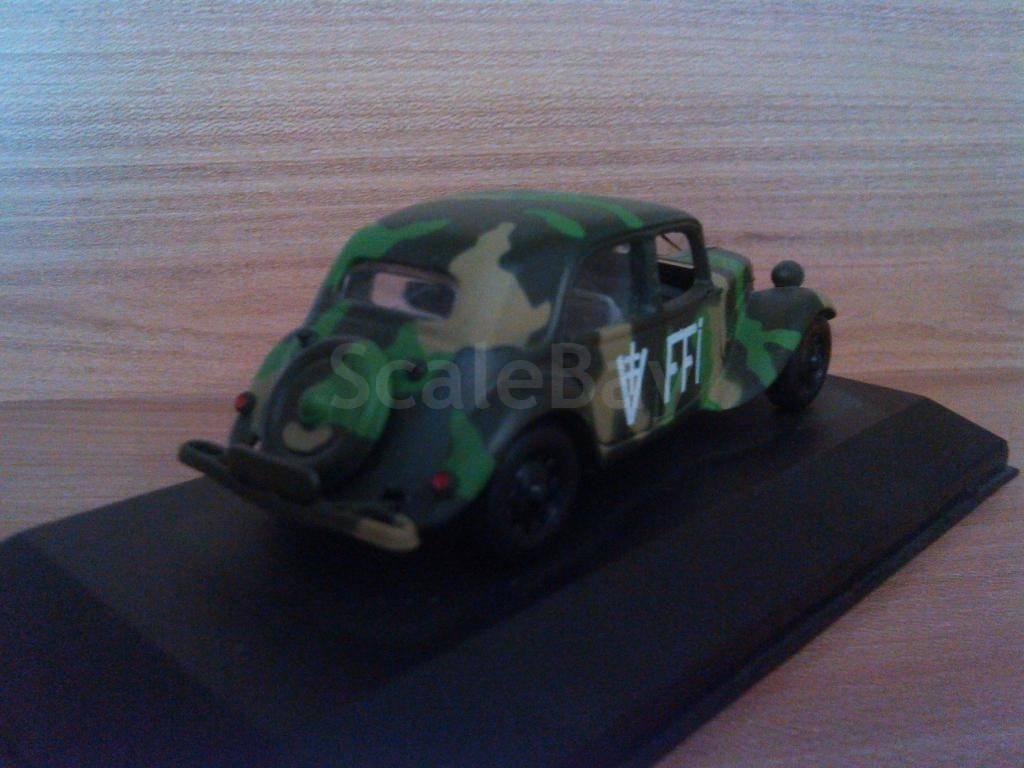 Scale model car 1:43 CITROEN Traction Avant France 1944