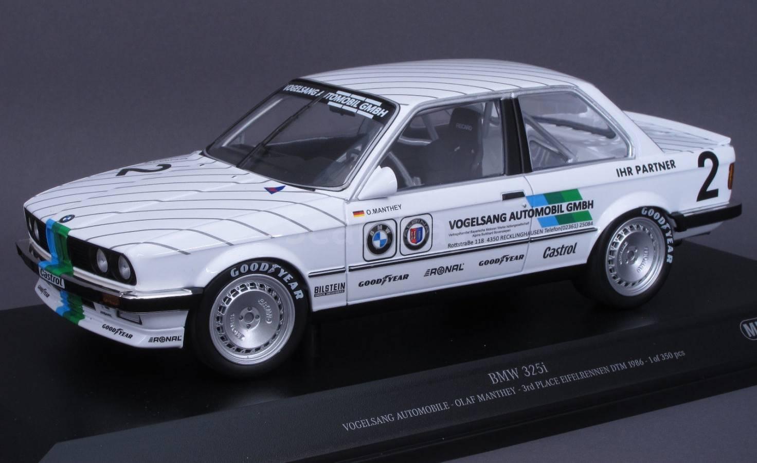 Bmw 325 Dtm 1986 гонки айфель Minichamps 118 аукцион масштабных и
