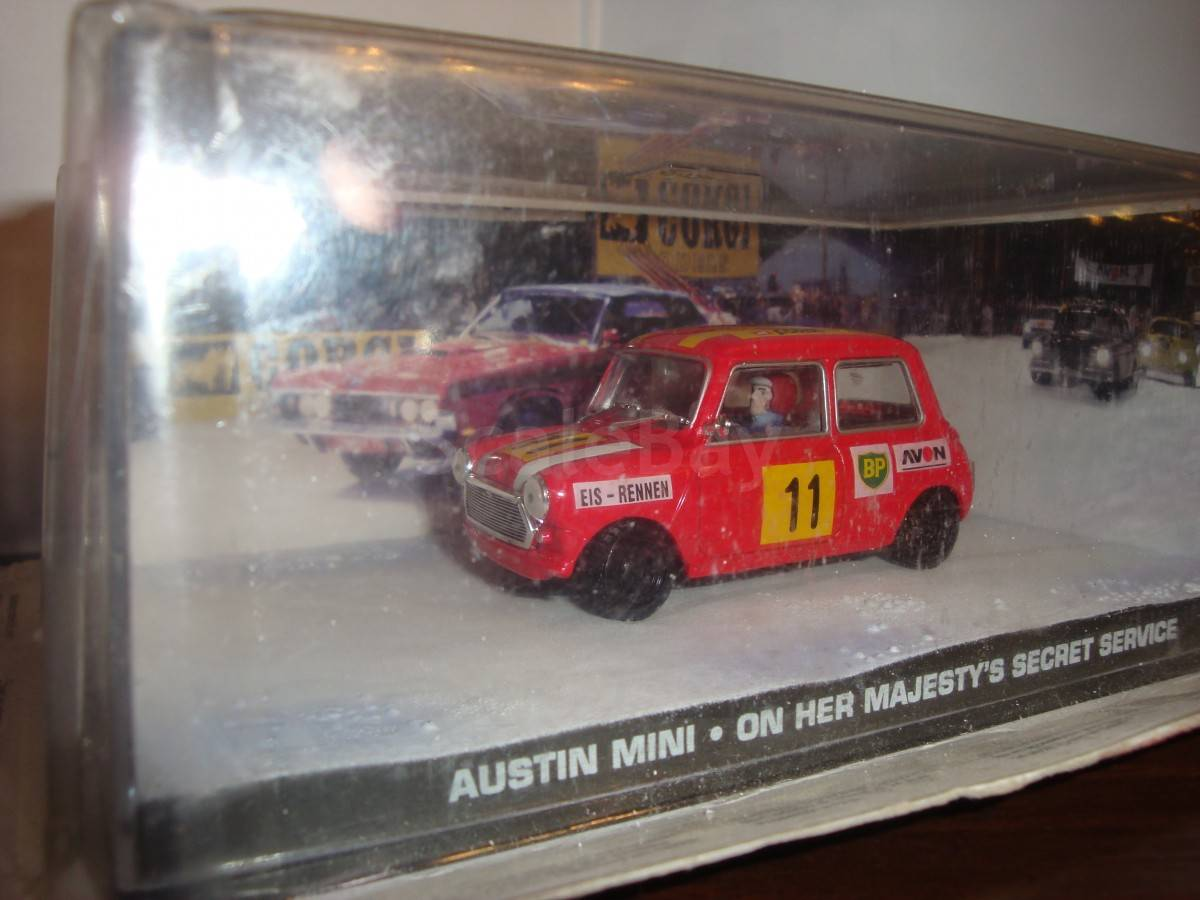 Austin Mini James Bond аукцион масштабных и сборных моделей