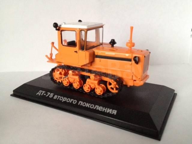 Купить Гусеничный трактор ДТ-75: цена, описание и.