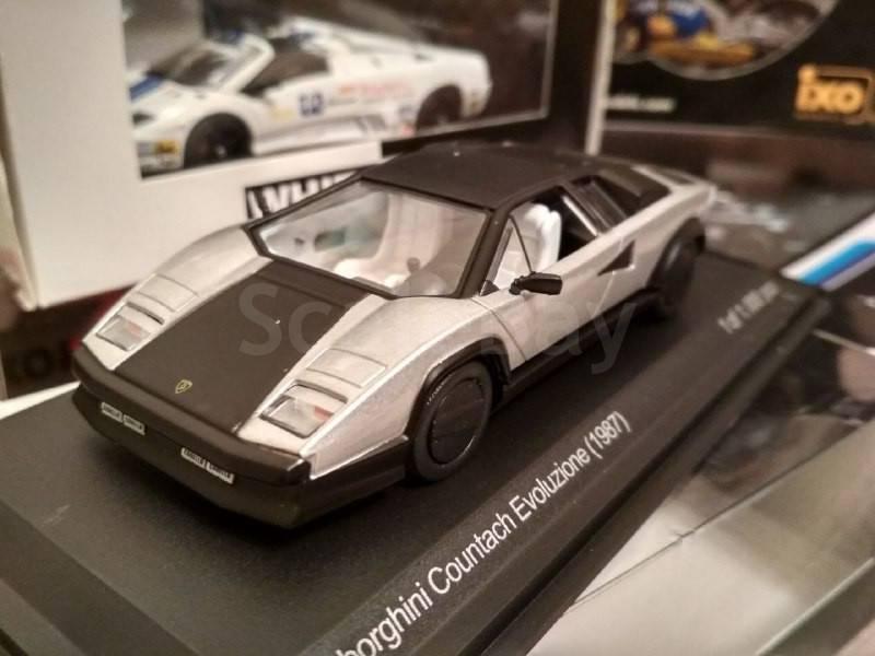 Lamborghini Countach Evoluzione 1987 Aukcion Masshtabnyh I Sbornyh