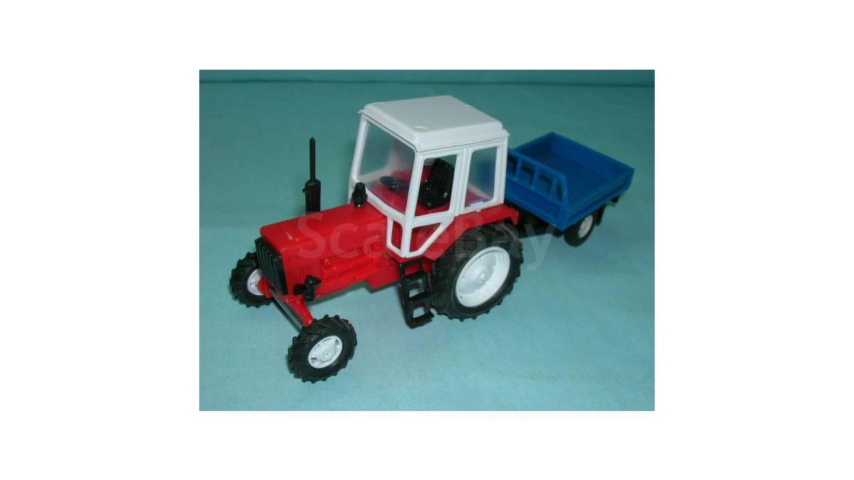 Трактор мтз-80 с прицепом, косилкой, отвалом в.