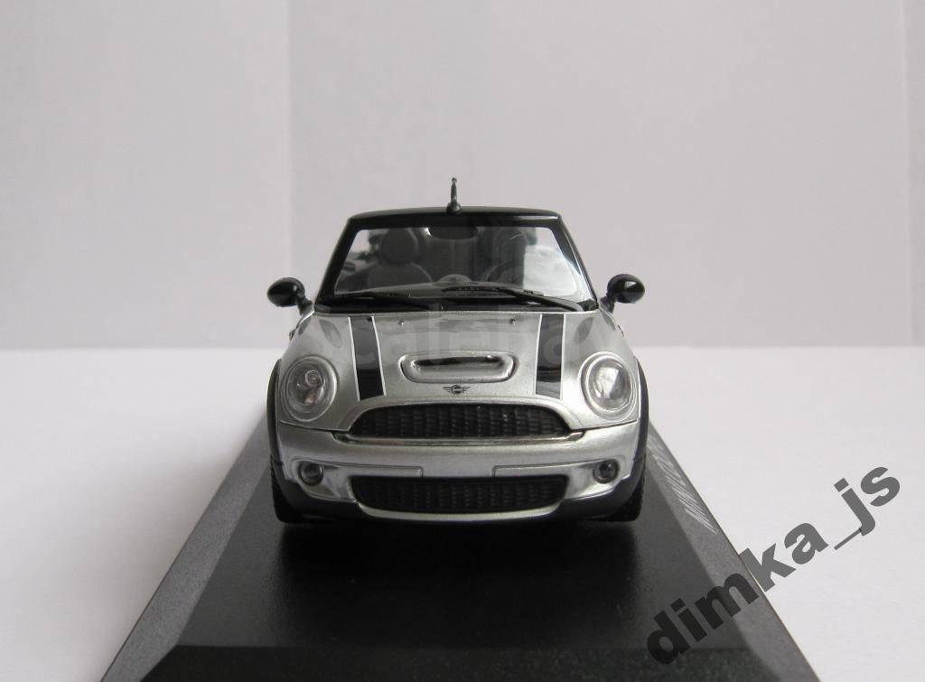 143 Minichamps Mini Cooper S Cabriolet 2009 аукцион масштабных и
