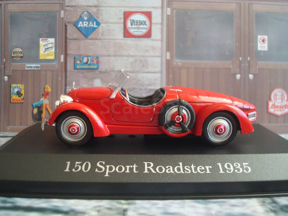 Mercedes benz 150 sport roadster 1935 for Mercedes benz 150