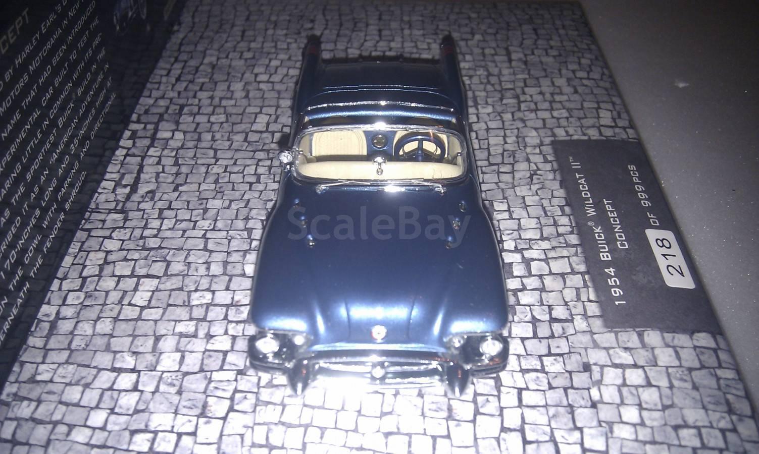Buick Wildcat Ii Concept 1954 Minichamps Scale43